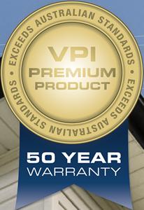 VPI 50 Year Warranty badge