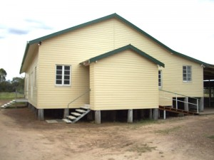 Photo of a newly clad dwelling